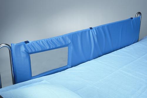 """Thru-View Vinyl Bed Rail Pads, 60""""L - Standard Window"""