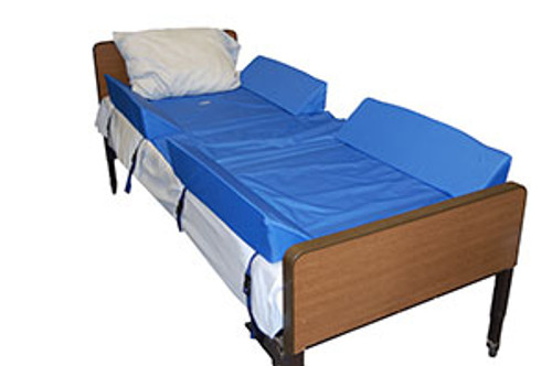 30° Full Body Bed Support System w/4 Attached Bolsters