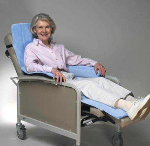 Geri-Chair Cozy Seat w/Extended Leg Rest