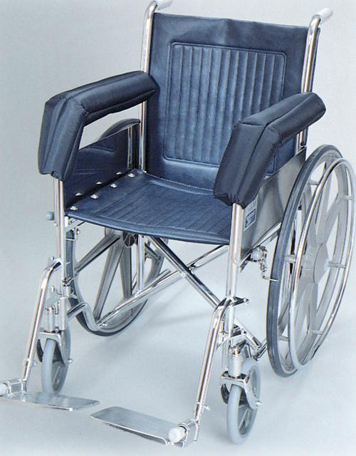 Wheelchair Foam Padded Nylon Full Armrest Pads