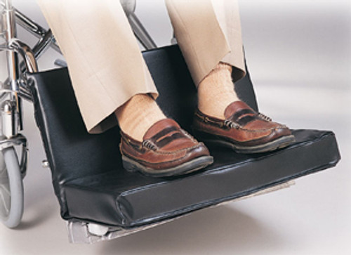 """Two-Piece 20-22"""" Footrest Extender w/2"""" Foot Pad"""