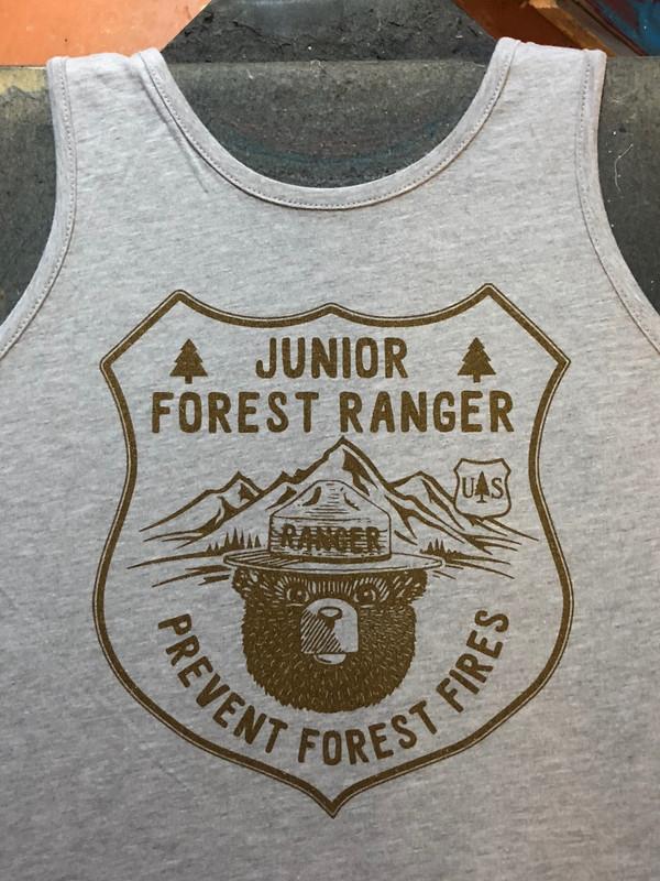 Forest Ranger Tank