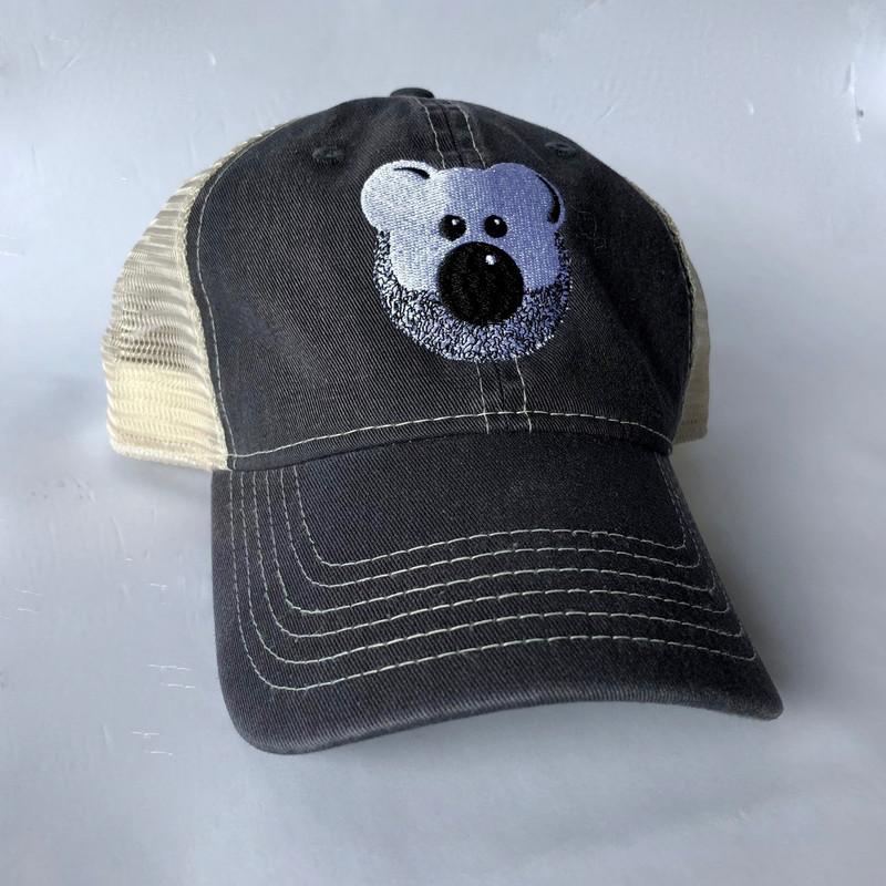 Beardy Bear Trucker Cap 2