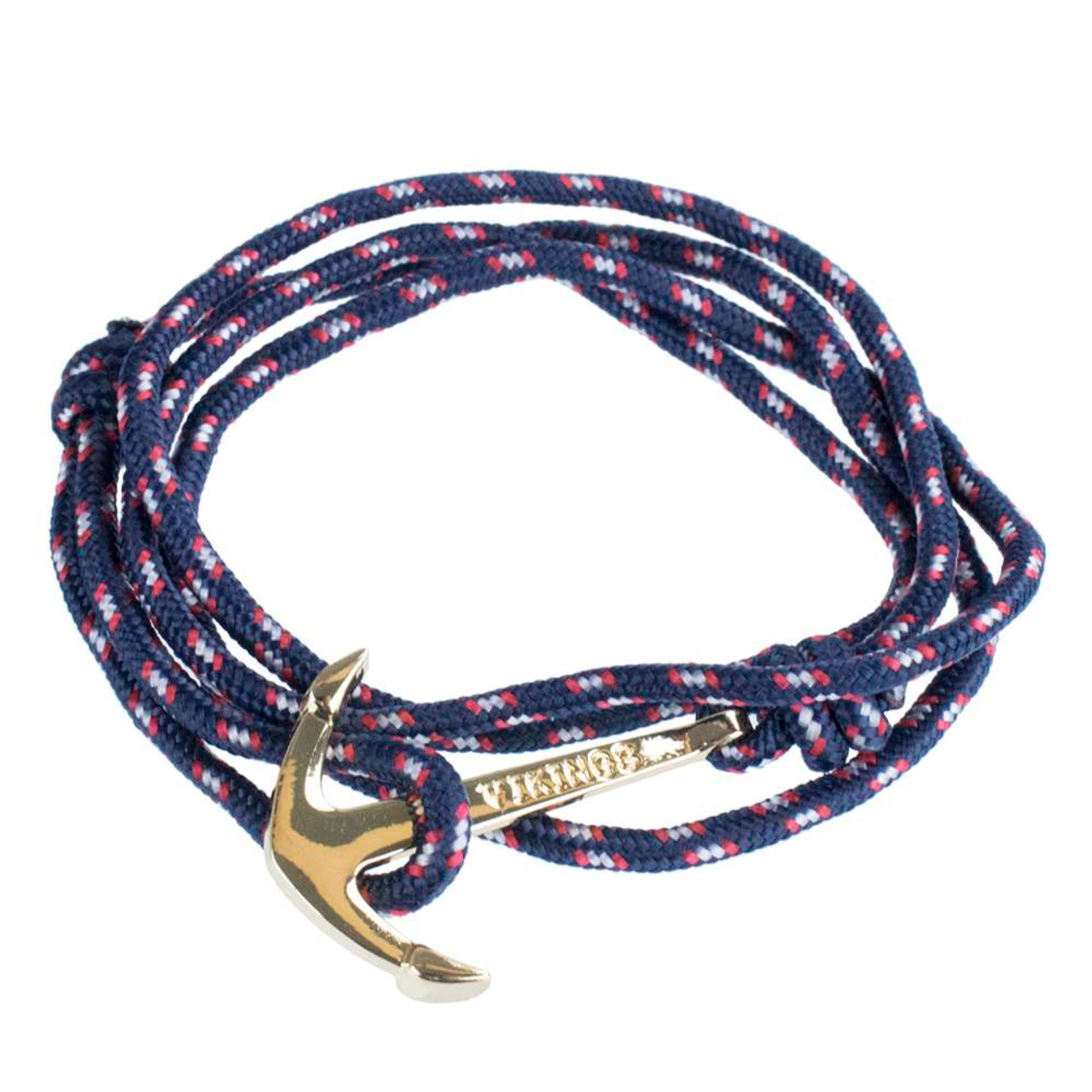 navy steel clasp with jewellery blue leather unique bracelet