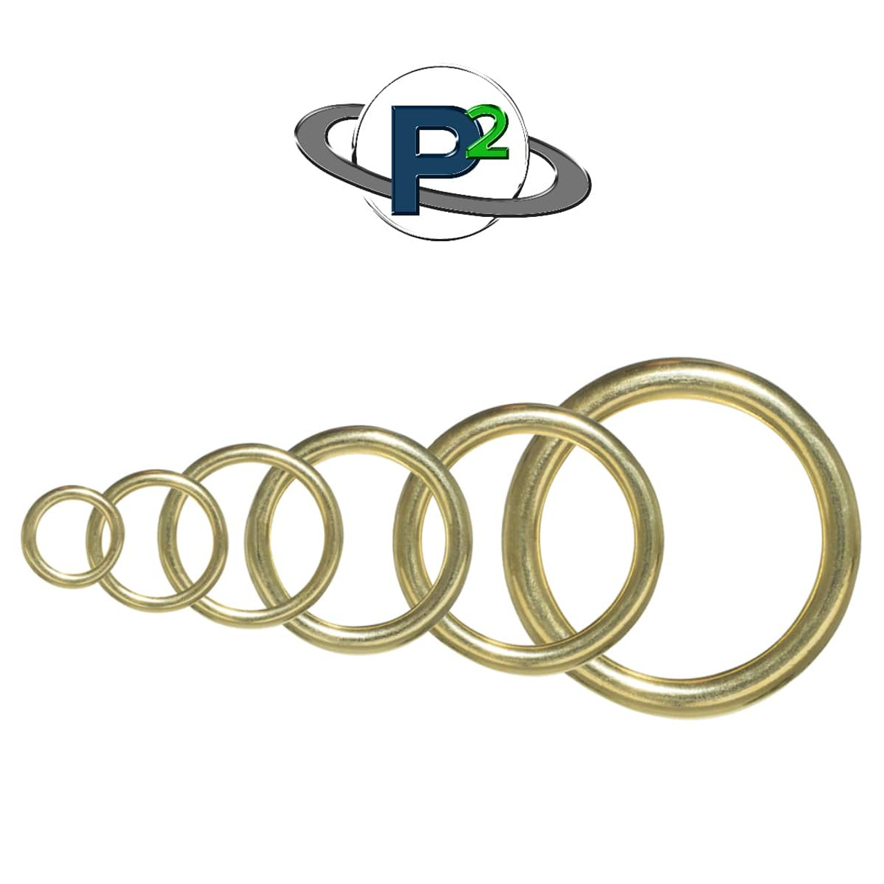 Brass O Rings - Multiple Sizes | Paracord Planet