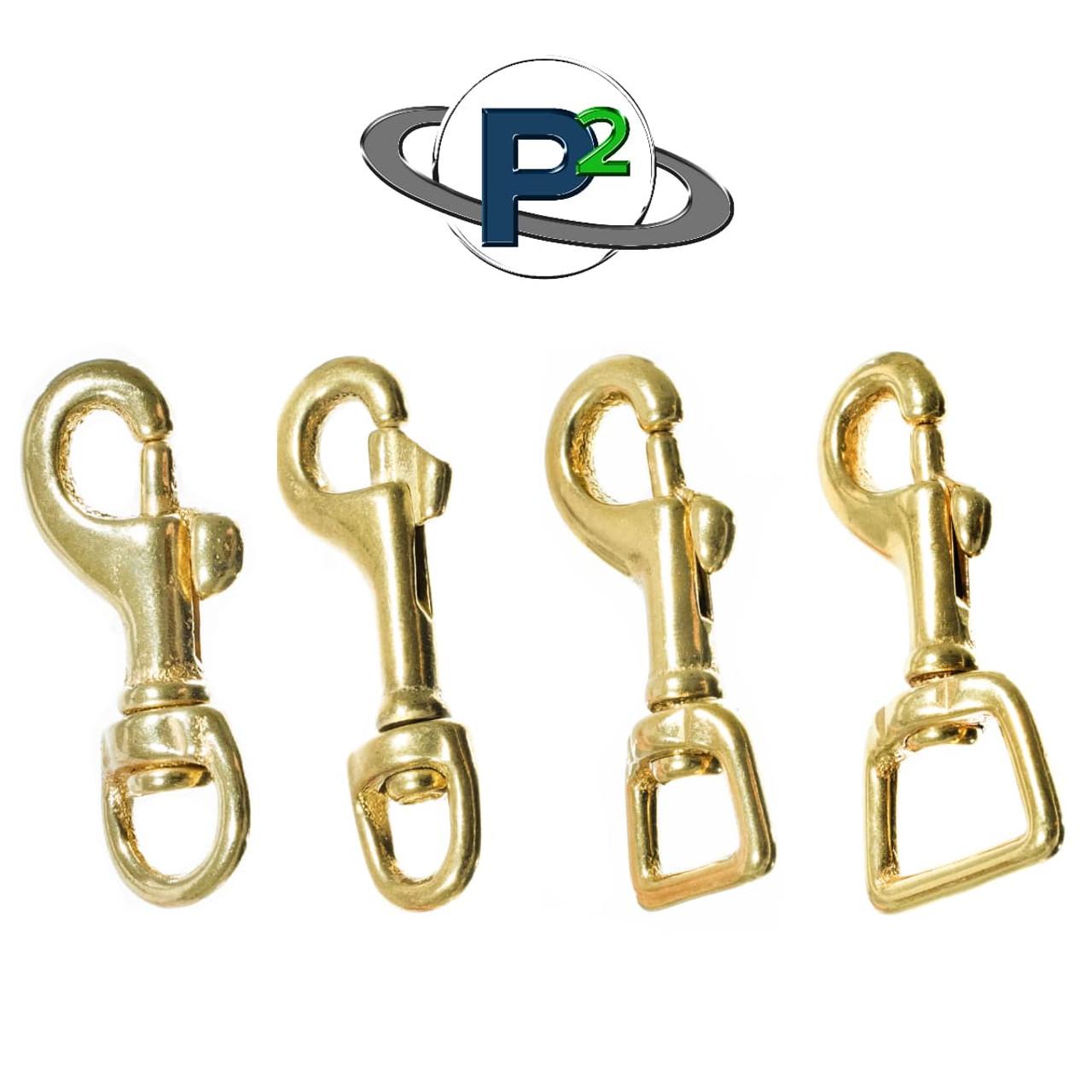 Brass Swivel Snap Hooks