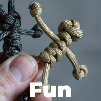Fun Paracord Tutorials