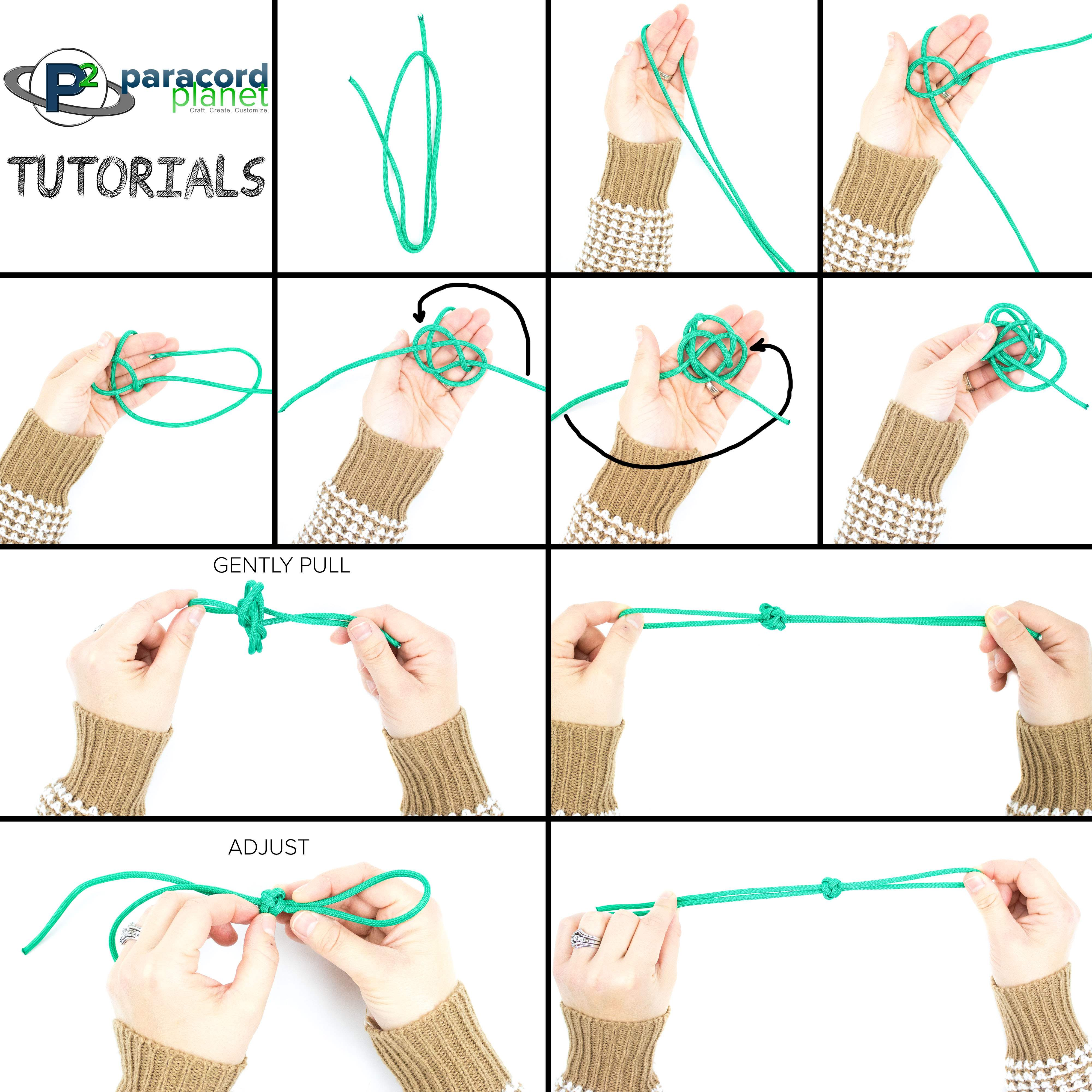Paracord Diamond Knot photo tutorial