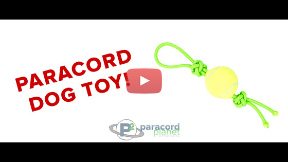 Paracord Dog Toy Tutorial