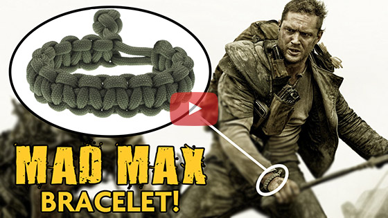 Mad Max Style paracord bracelet tutorial
