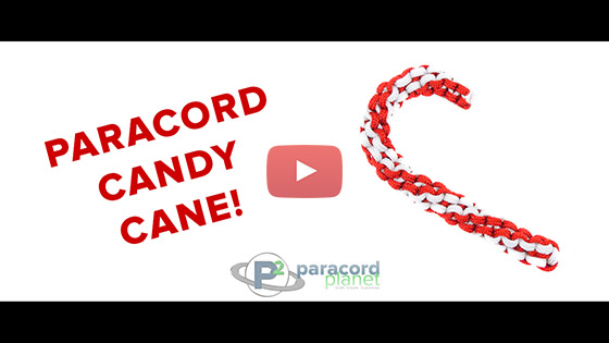 Paracord Candy Cane Tutorial