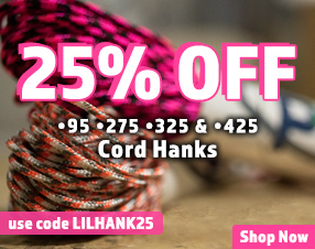 25% off 95, 275, 325 and 425 hanks