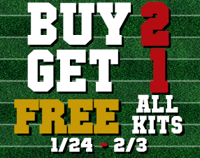 Buy 2 Get 1 Free on all kits