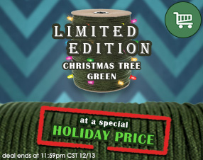 Limited Edition Christmas Tree Green at a special holiday price