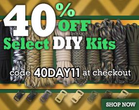40% off select DIY Kits