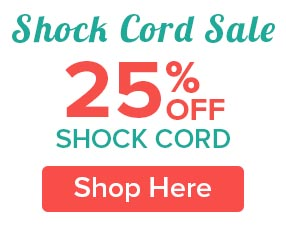 25% Off Shock Cord