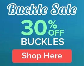30% Off Buckles