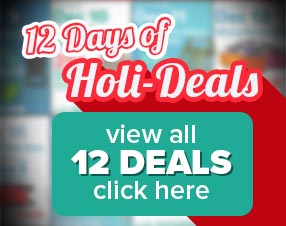 12 Days of Holi-Deals