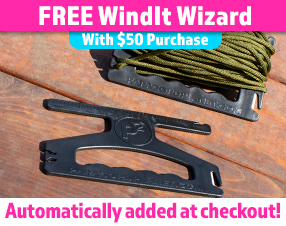 Free WindIt Wizard with $50 purchase