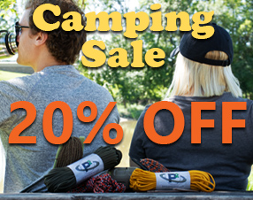 Camping Sale 20% Off
