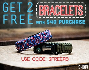 Get two free bracelets with $40 purchase