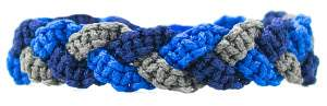 Tri cobra braid bracelet