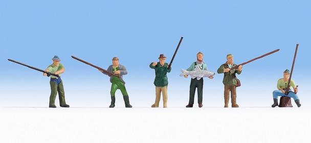 NOCH 15892 Fishermen 00/HO Model Figures