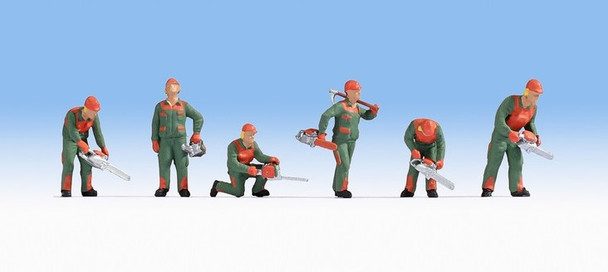 NOCH 15061 Forest Workers 00/HO Model Figures