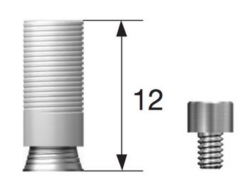 Multi unit Gold Cylinder