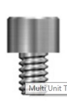Multi Unit Cylinder Screw- Mini/STD