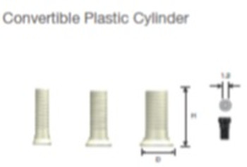 Convertible Plastic Cylinders