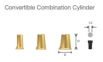 Convertible Combination Cylinder