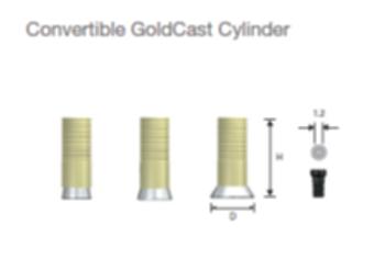 Convertible GolCast Cylinder Mini/Reg