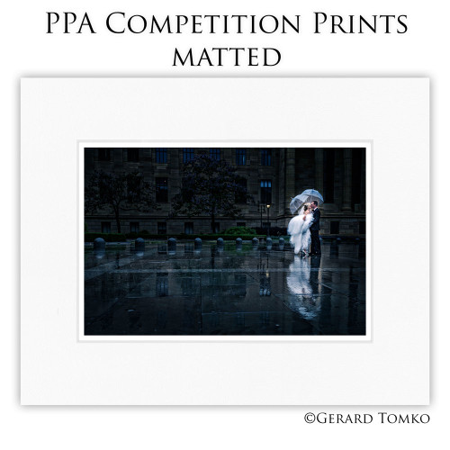 PPA Competition Prints, Matted
