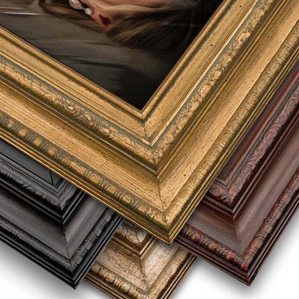 Ornate Frame, No Mat