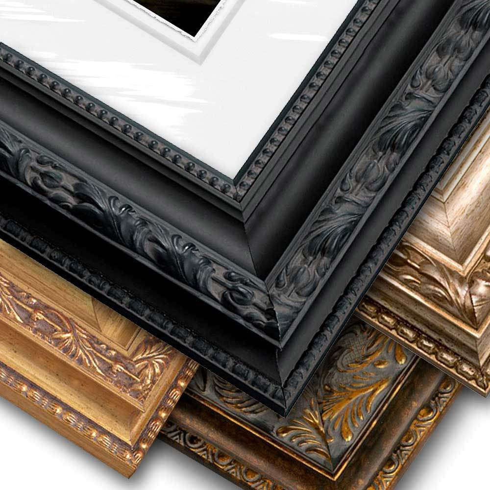 Ornate Frame, Float Mount