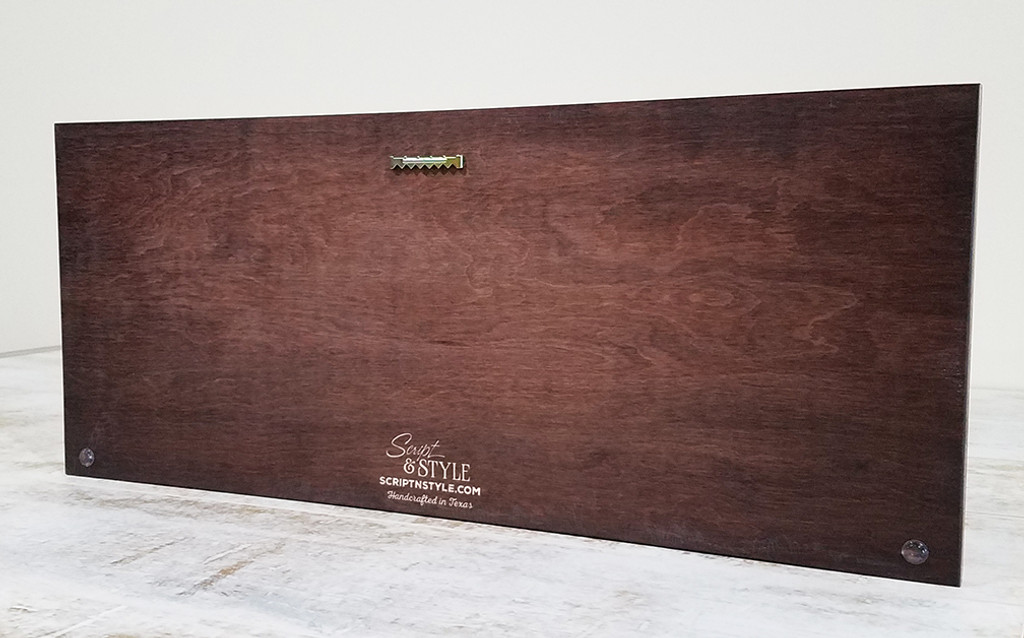 custom wooden family sign