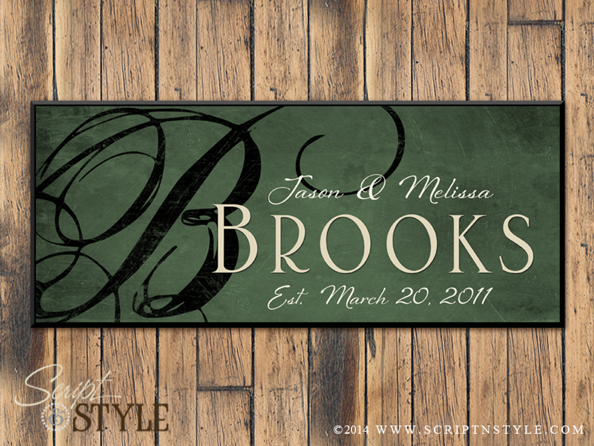 Personalized family established sign family name sign for Last name pictures architecture