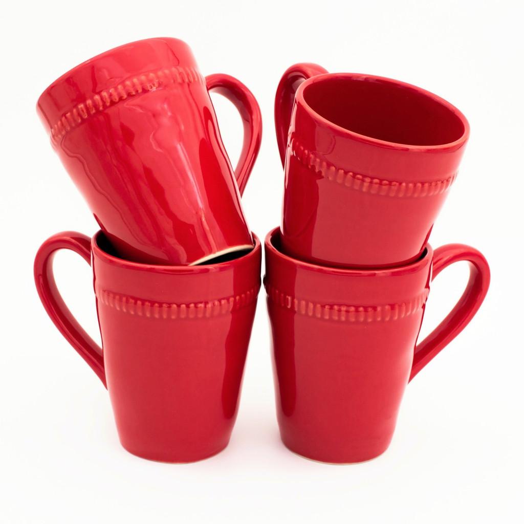 Algarve Mugs, Set of 4