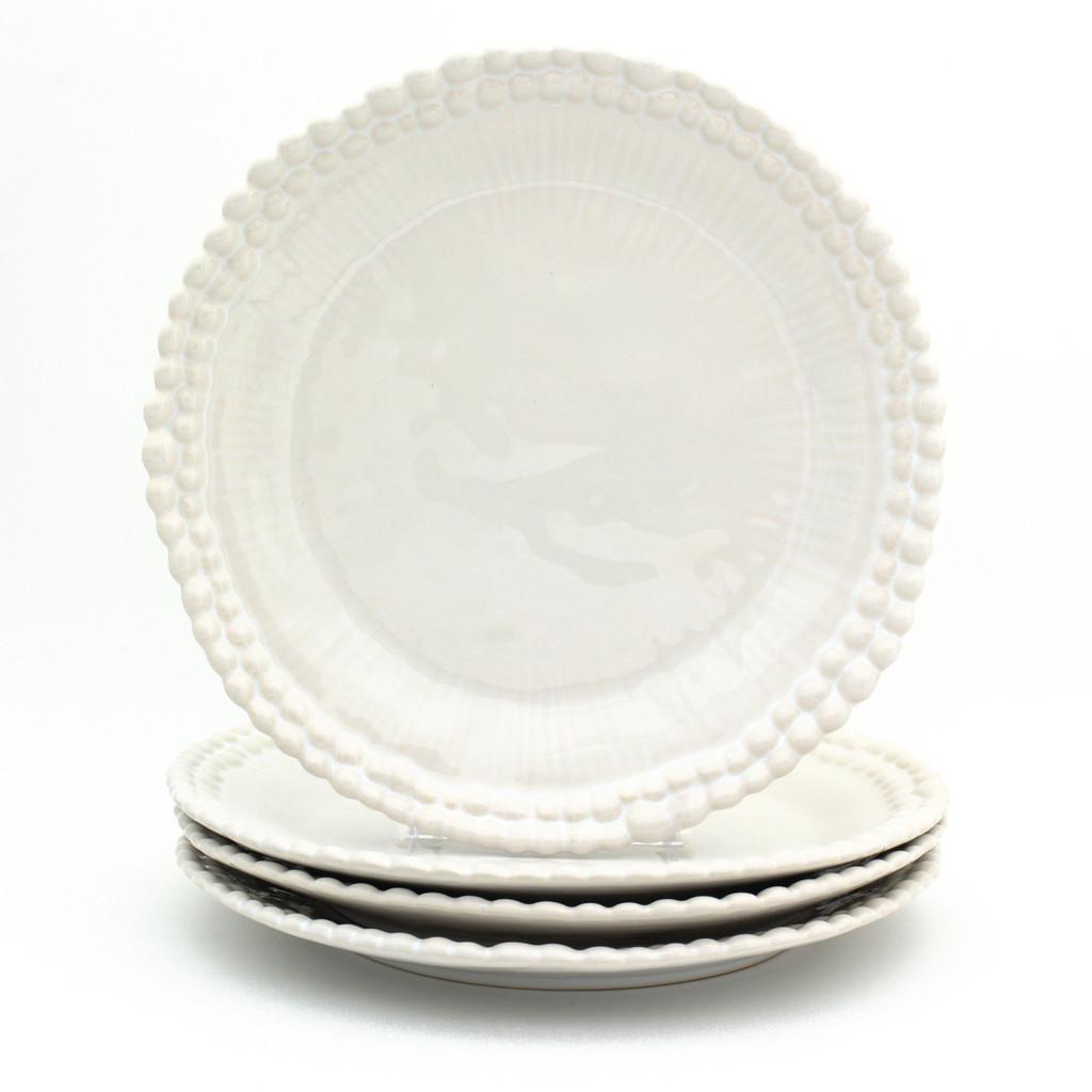 Sarar Dinner Plates by St. Germain, Set of 4