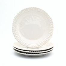 Sarar Salad Plates by St. Germain, Set of 4