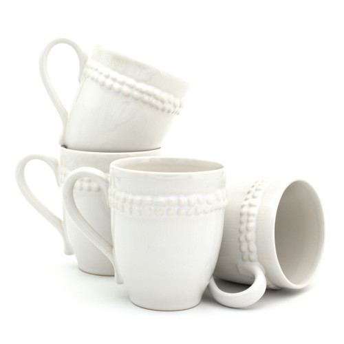 Sarar Mugs by St. Germain, Set of 4