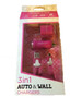 Acellories 3in1 Home Car Gift Box Set Chargers w/3ft Cable -PINK