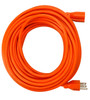 Heavy Duty Indoor/Outdoor UL Listed Extension Cord 50ft - Orange