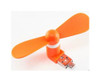 2in1 android Micro-USB portable cooling cooler fans/fan- orange