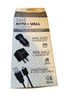 Acellories 3in1 Home Car Gift Box Set Chargers w/3ft Cable -BLACK
