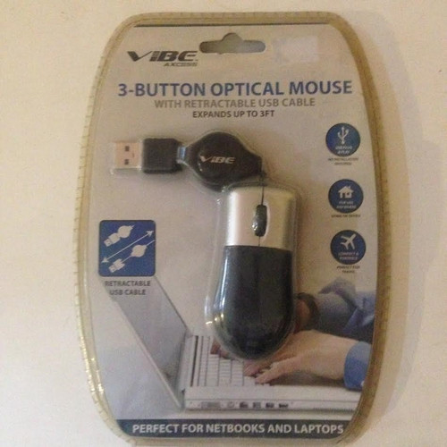 Vibe Axcess 3-Button Optical Mouse