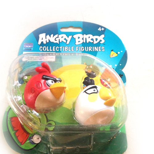 Angry Birds Collectible Figurines White/Red Birds