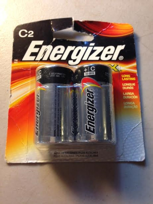 Energizer Max C 2 Pack Exp Date 3/19