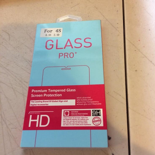 Glass Pro for Note 4s - 0.33mm 2.5 D